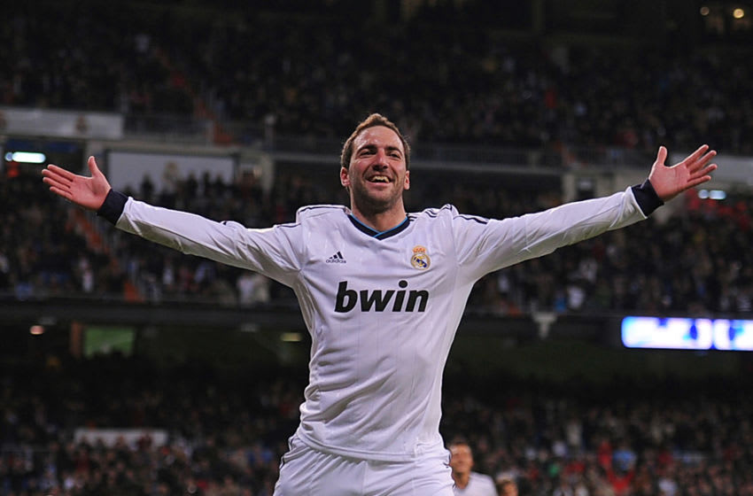Higuain for Real Madrid