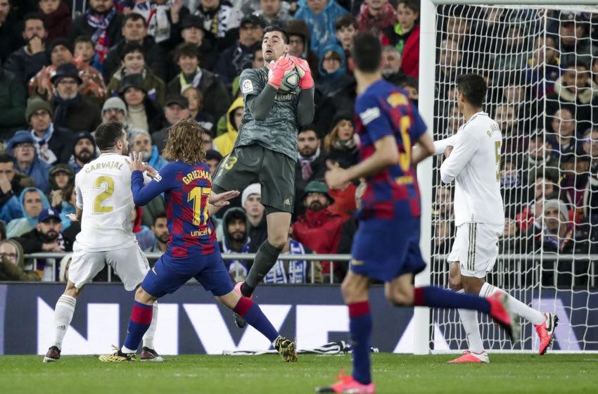 Real Madrid Thibaut Courtois La Liga
