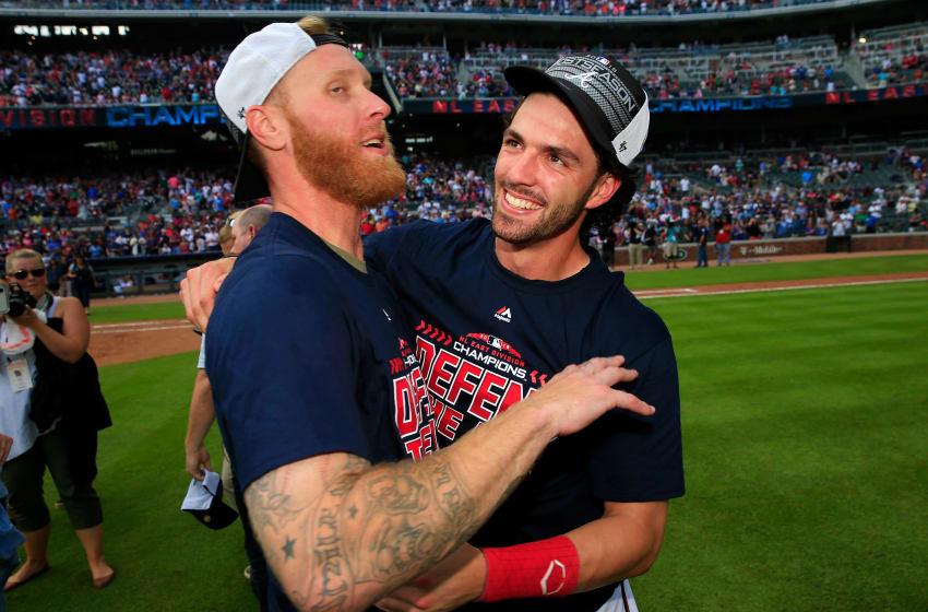 Atlanta Braves shortstop <a rel=