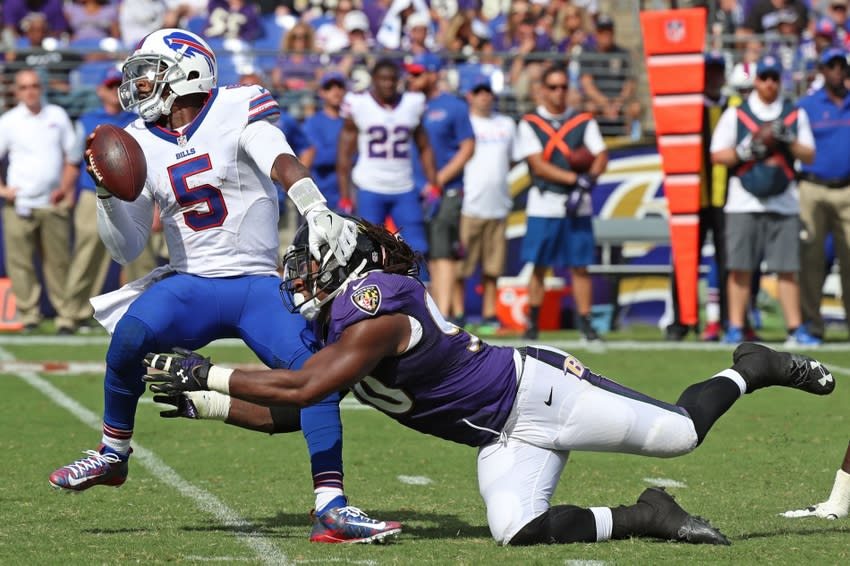 Buffalo Bills Vs Ravens Offense And Defense Grades Page 2