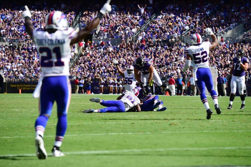 Buffalo Bills Vs Ravens Offense And Defense Grades Page 3