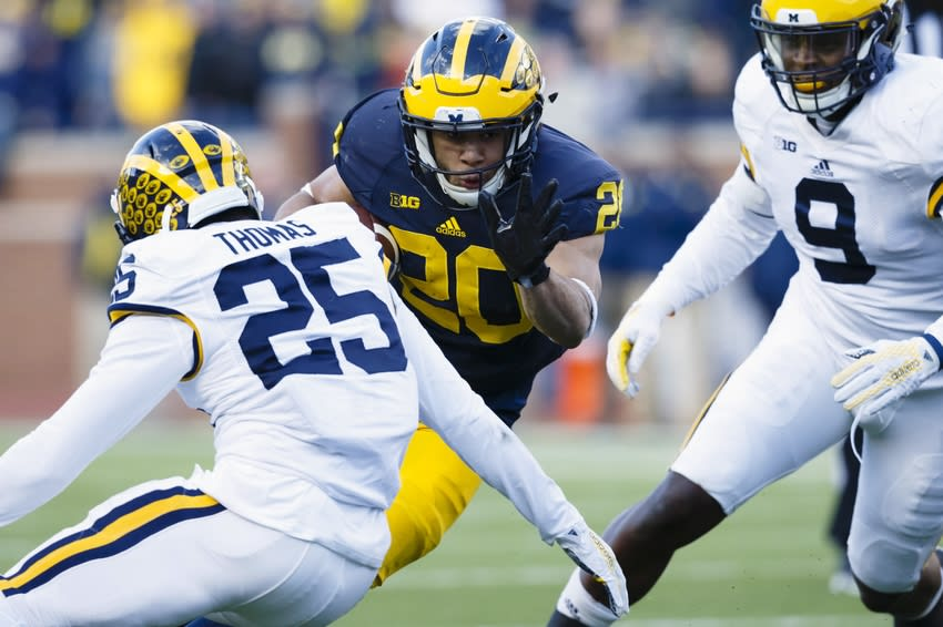 Michigan Football 2016 Position Preview: Running Backs ...