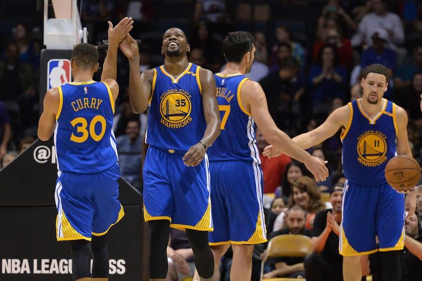 NBA 2016-17 Team Previews - Golden State Warriors: 'Super Splash'