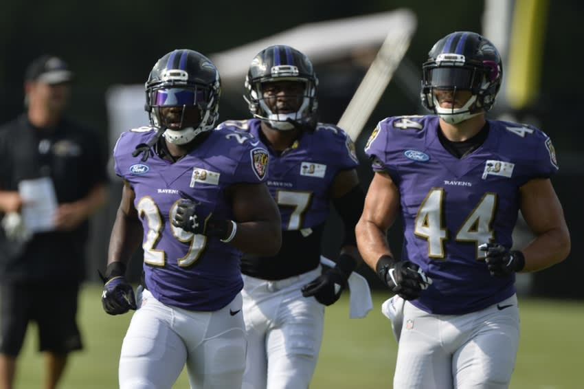 Baltimore Ravens: Predicting Which Skill Position Players Make ...