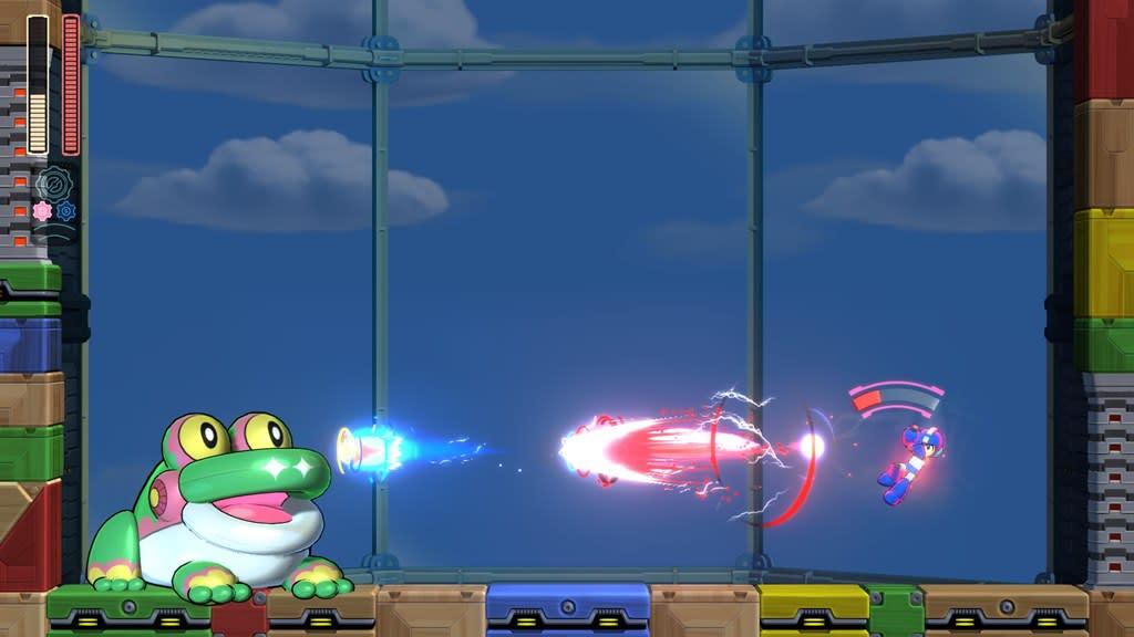 Mega Man 11 Bounce Miniboss