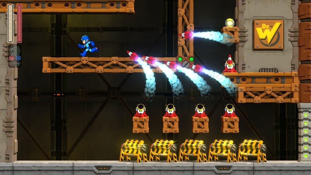 Mega Man 11 Impact Stage