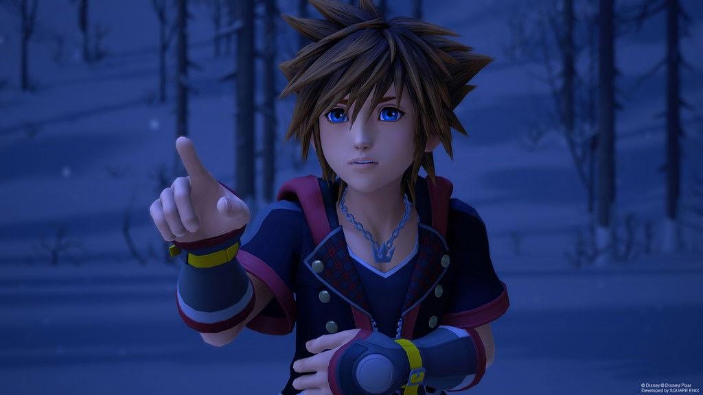 Kingdom Hearts - Sora in Super Smash Bros.?