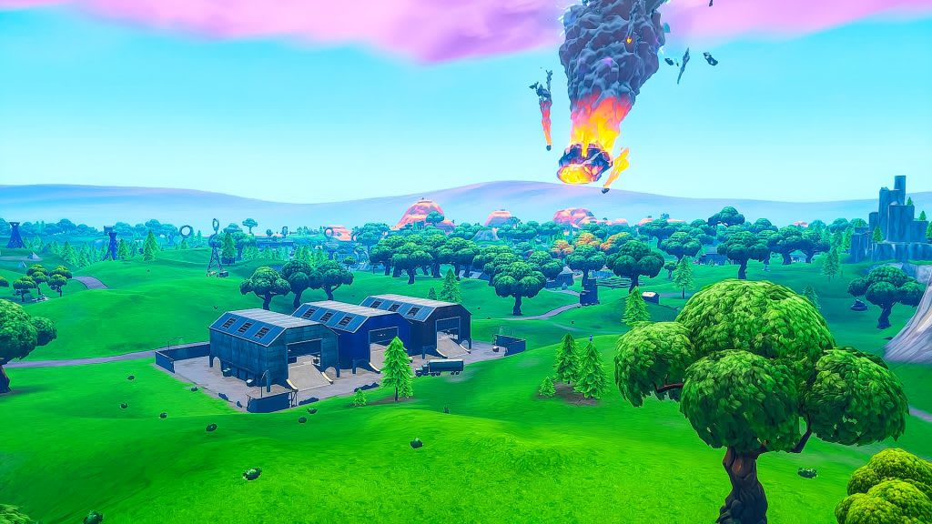 Fortnite Meteor Event Season 10 Fortnite Season 10 Map Changes And How They Will Impact The Map