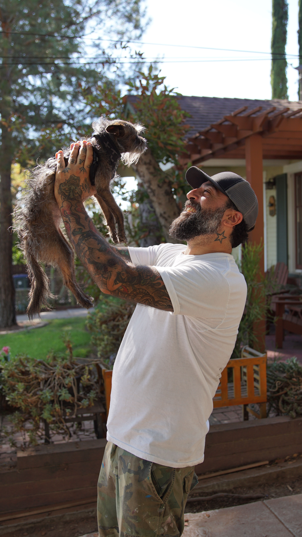 Antonio Ballatore Of Animal Cribs Talks Design Life And Rescue Dogs Page 2