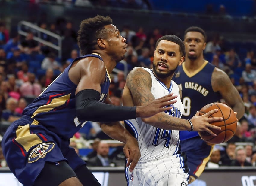 D.J. Augustin, Orlando Magic, Buddy Hield, New Orleans Pelicans