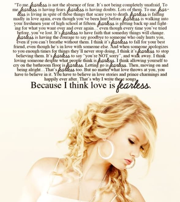 Taylor Swift Song Of The Week Fearless Fans Of Taylor Swift
