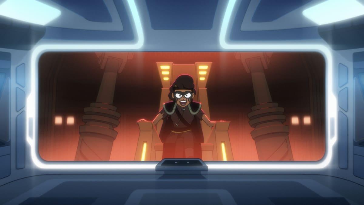 Tawny Newsome as Ensign Beckett Mariner on STAR TREK: LOWER DECKS Episode 9