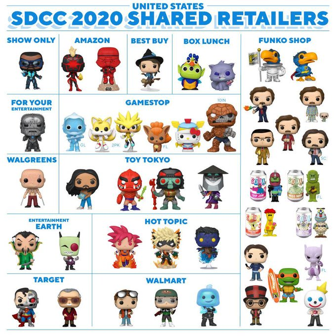 Comic Con 2020 How To Get This Year S Exclusive Funko Pops
