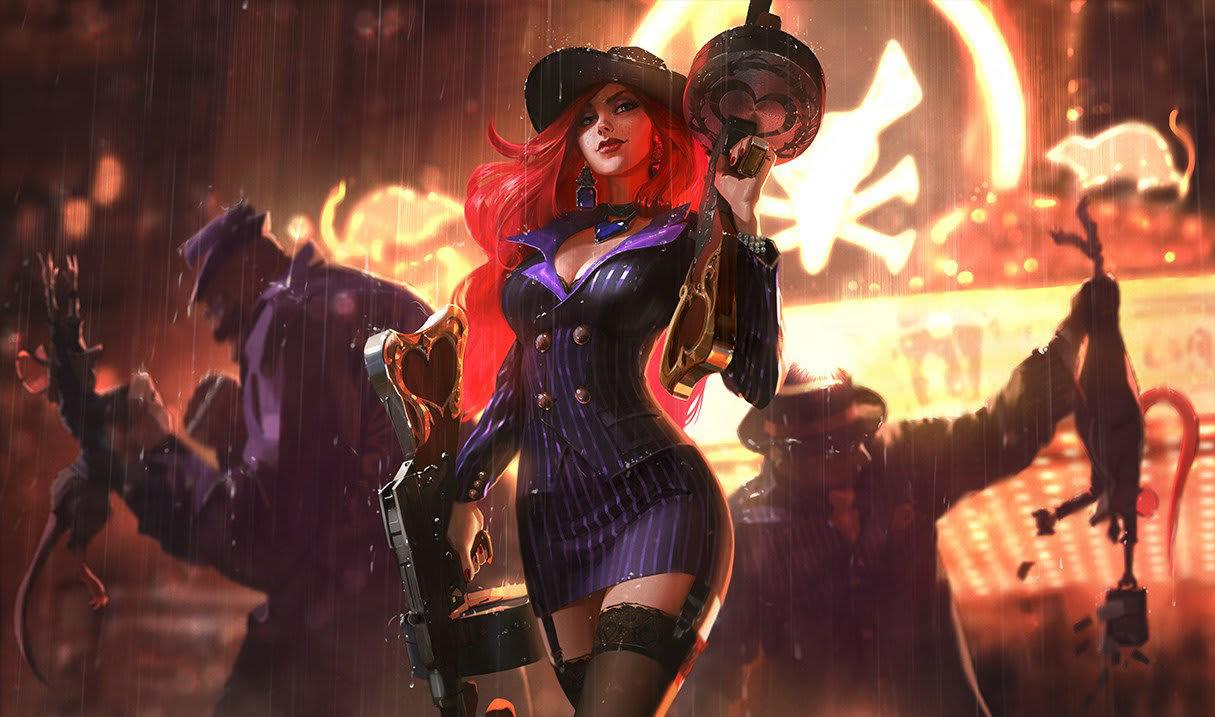 Mafia Miss Fortune. League of Legends.