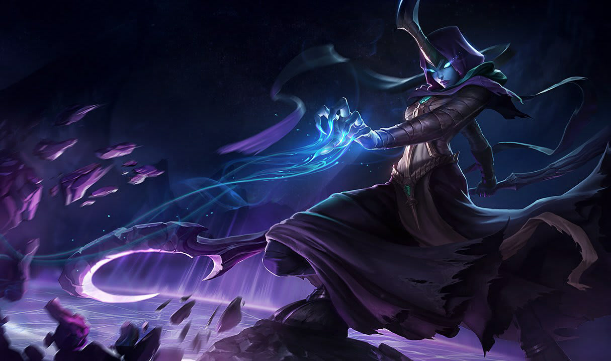 Reaper Soraka. League of Legends.