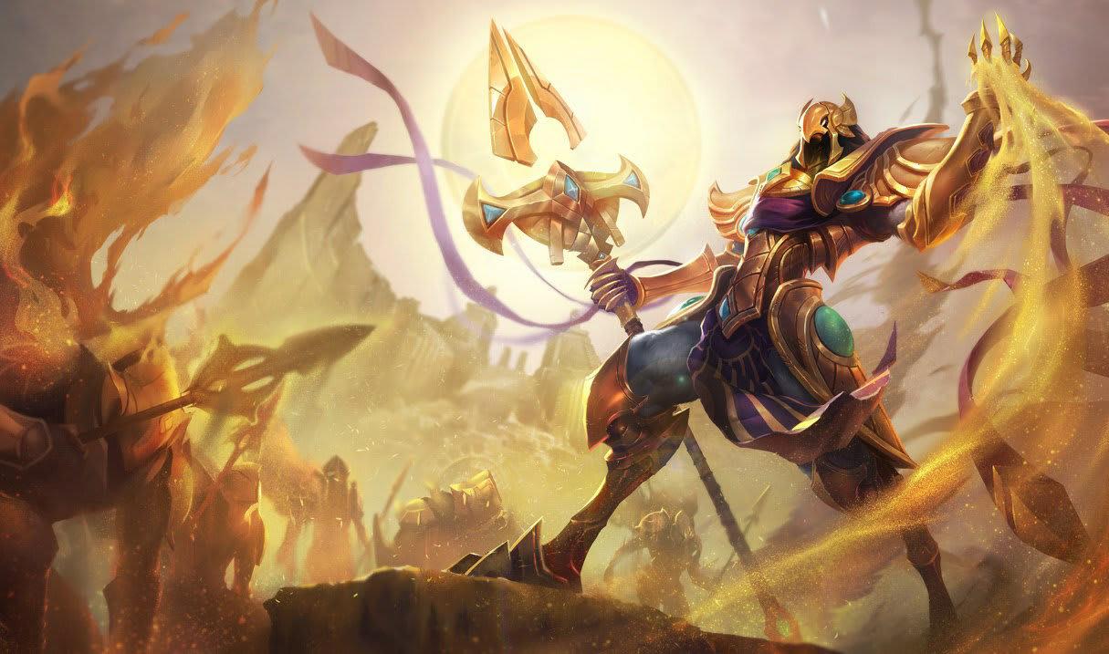 Azir. League of Legends.