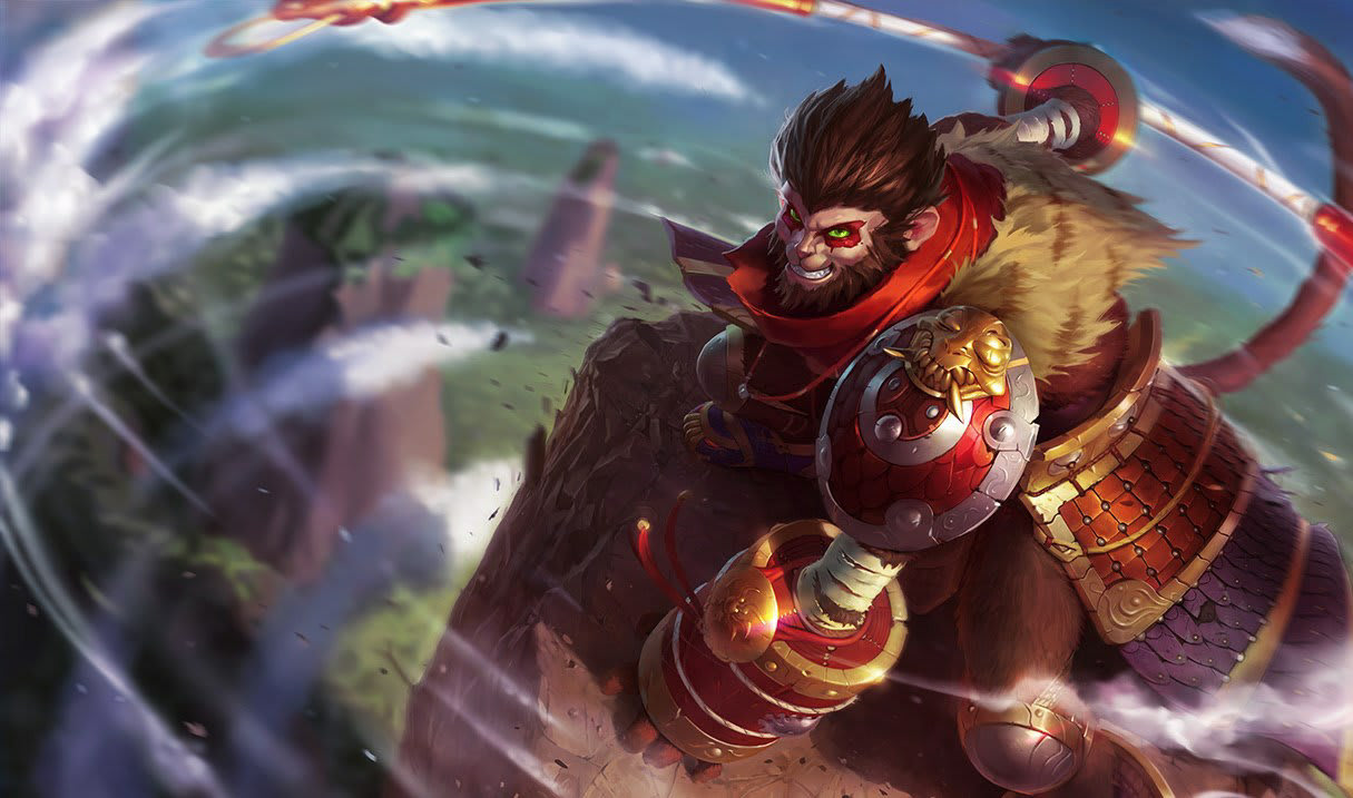Wukong. League of Legends.