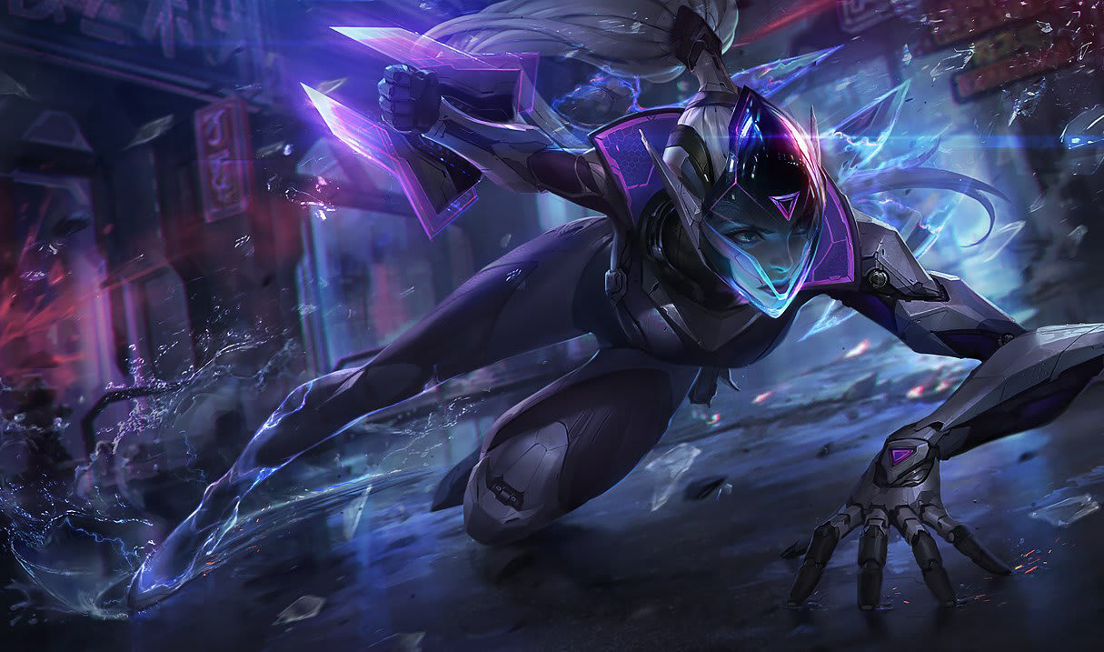 PROYECTO: Vayne, League of Legends