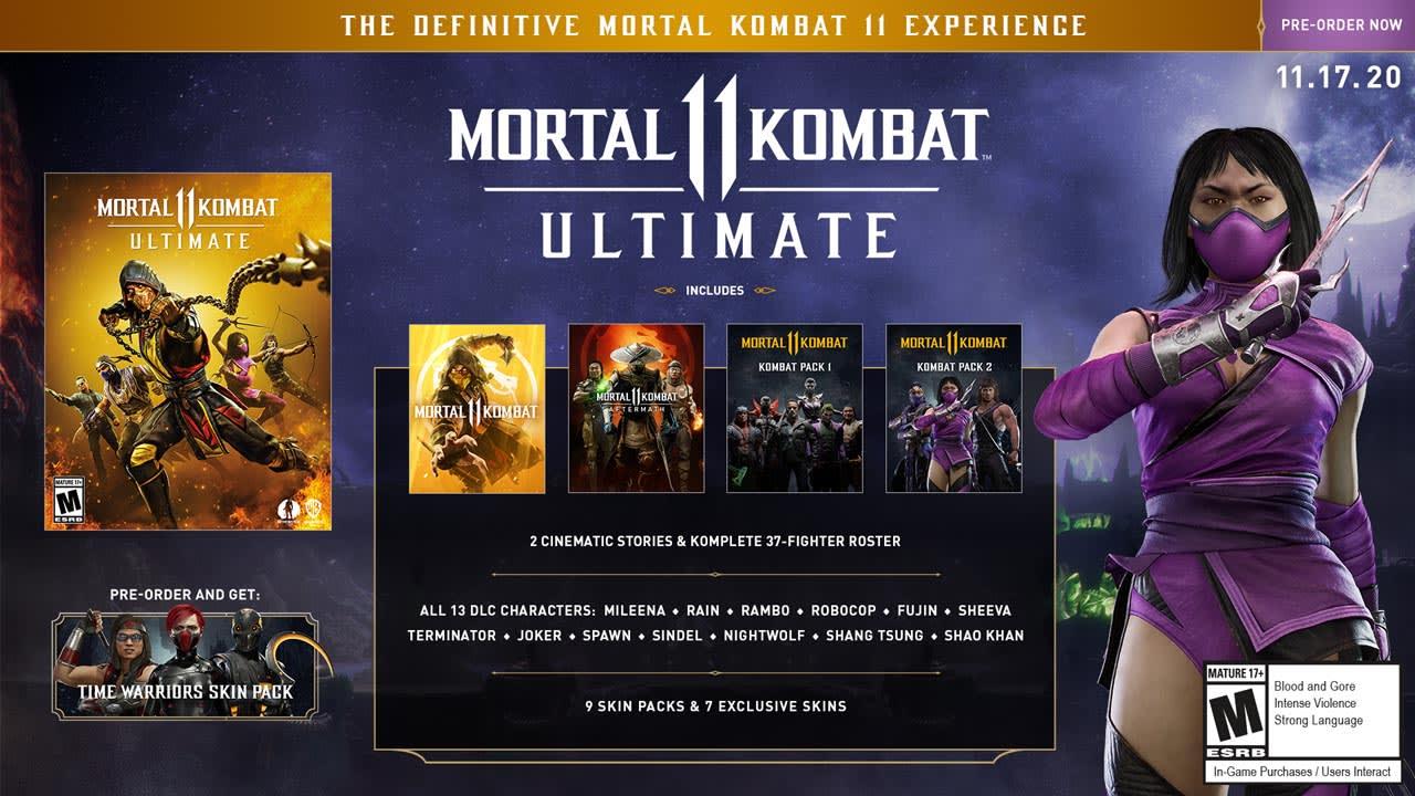 Mortal Kombat 11 Ultimate Overview Bigger Better And Next Gen
