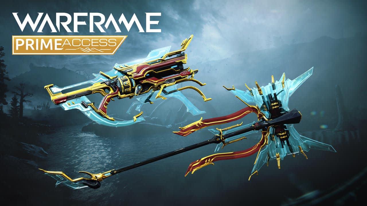 Gara Prime Access Warframe Weapons