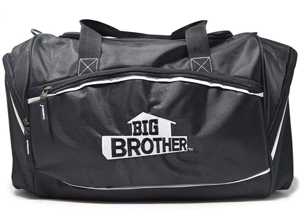 Discover CBS's logo travel bag available on Amazon.