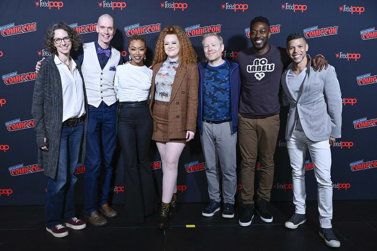 Executive Producer/Showrunner Michelle Paradise, Doug Jones, Sonequa Martin-Green, Mary Wiseman, Anthony Rapp, David Ajala, and Wilson Cruz could all be returning for Star Trek: Discovery Season 4