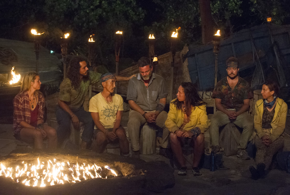 Survivor Game Changers Jeff Varner Zeke Smith Tribal Council
