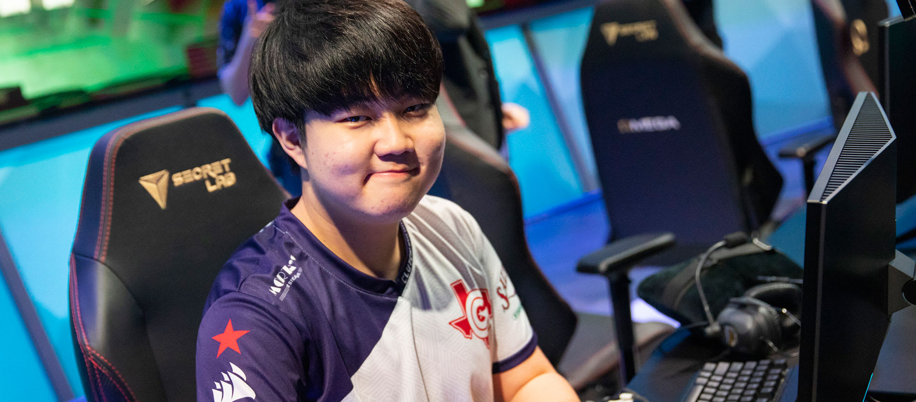 Huni of Clutch Gaming. League of Legends.