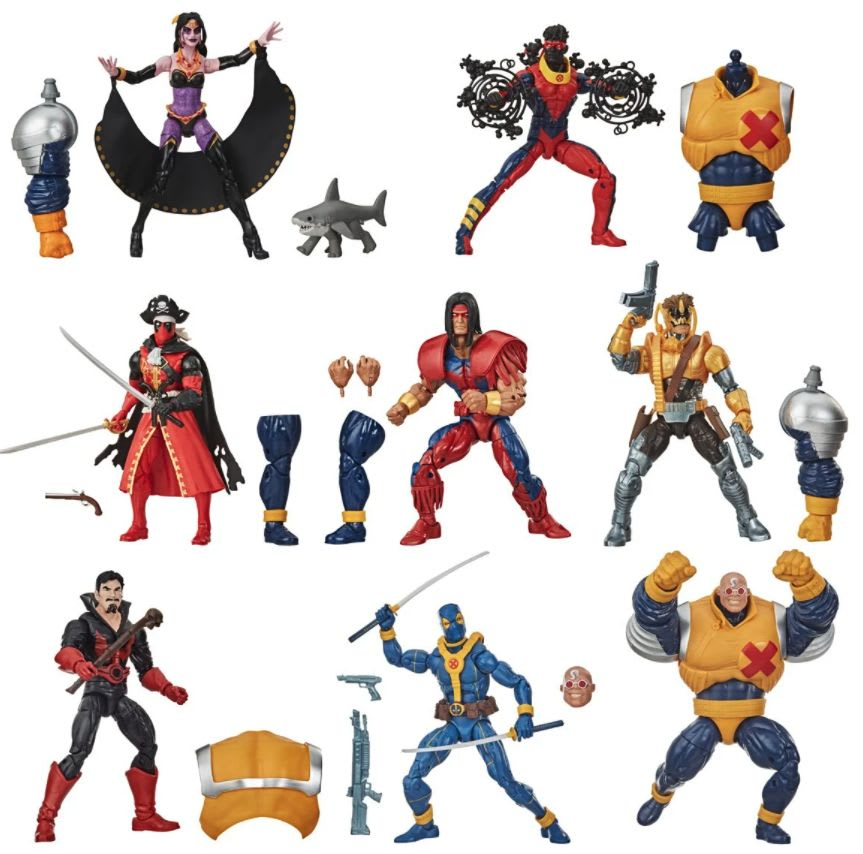 Deadpool Marvel Legends 6-Inch Action Figures