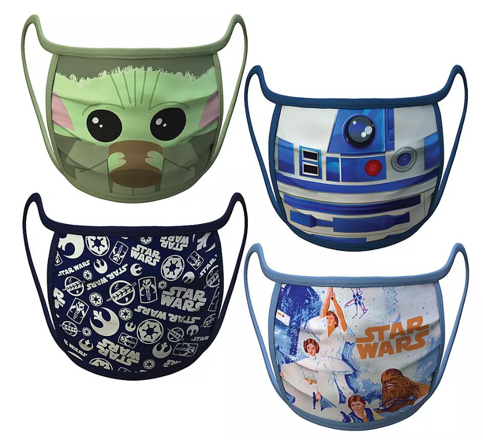 Be An Everyday Jedi With These Star Wars Face Masks