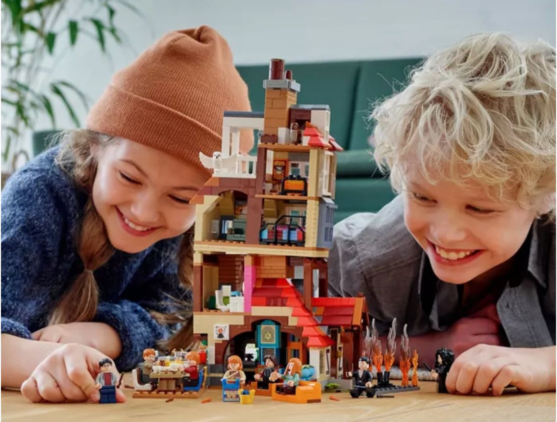 Discover the LEGO Harry Potter Attack at the Burrows Set available at Target.