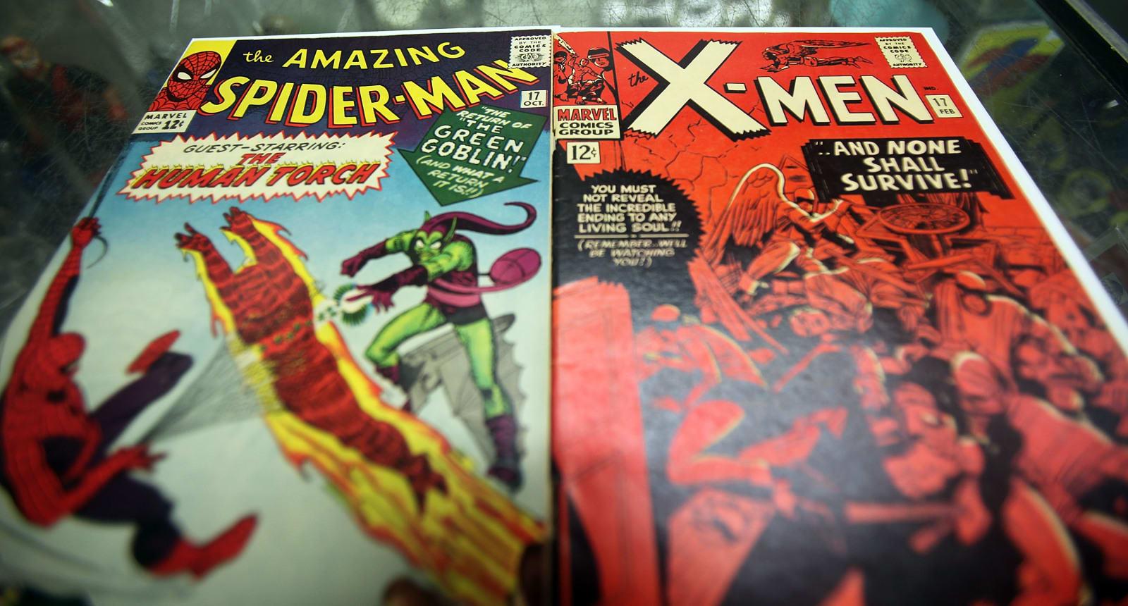 Marvel, superheroes