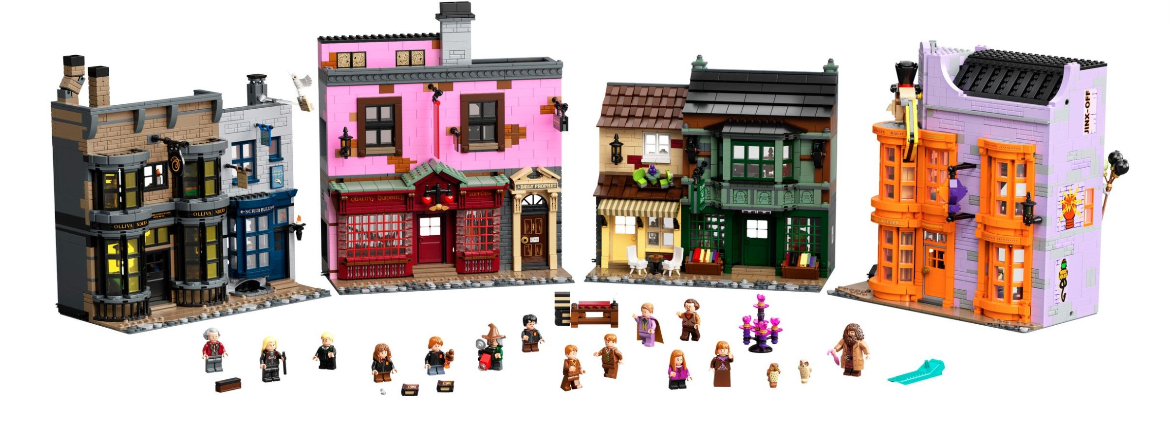 Discover the LEGO Harry Potter Diagon Alley Set available at LEGO.