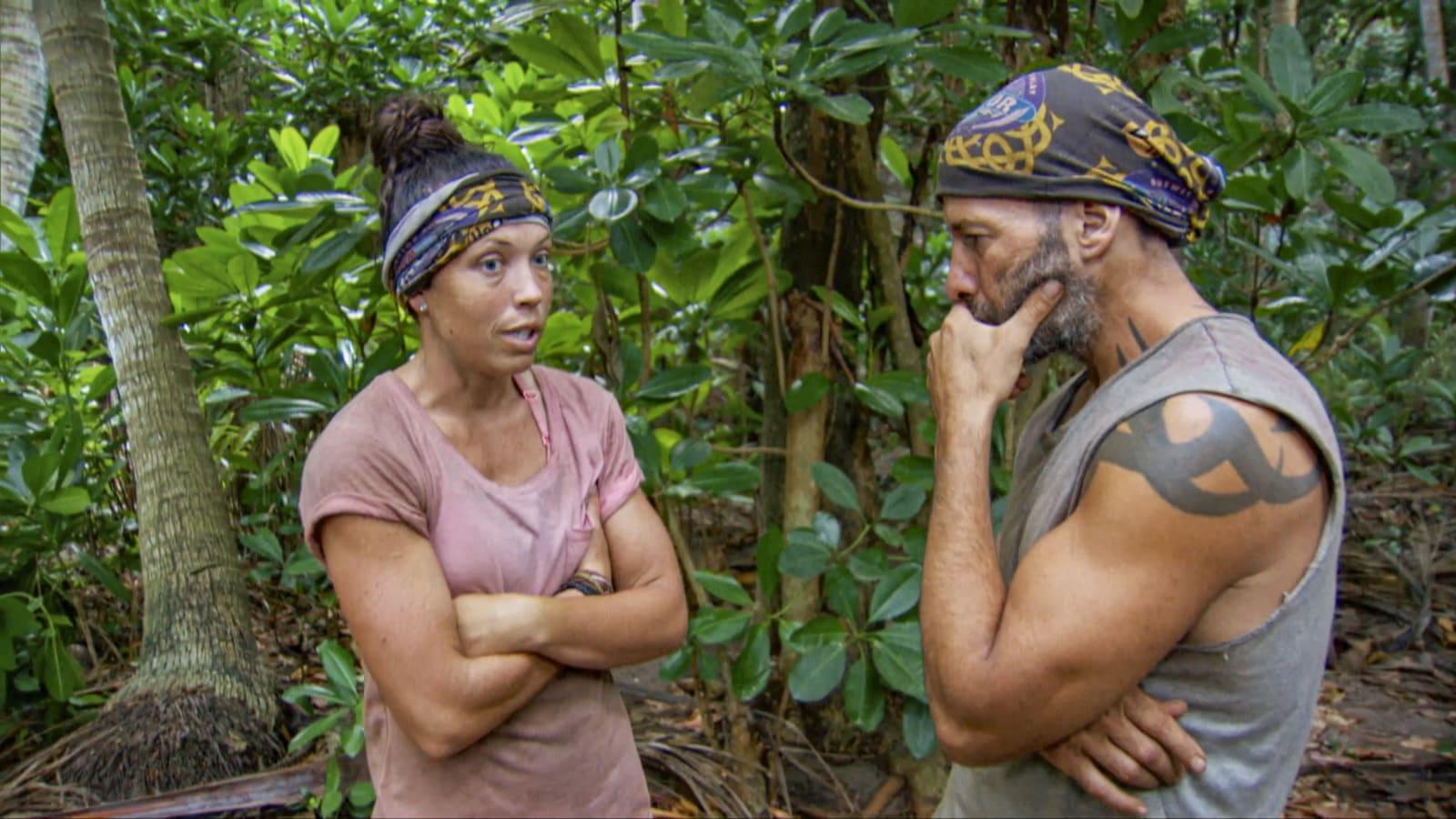 Sarah Tony Survivor Winners at War episode 13