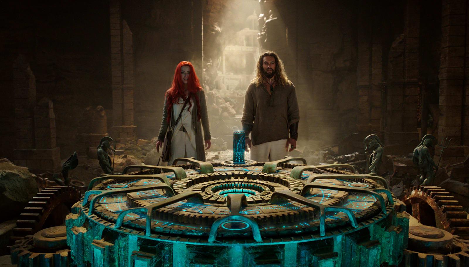 AMBER HEARD as Mera and JASON MOMOA could return for Aquaman 2