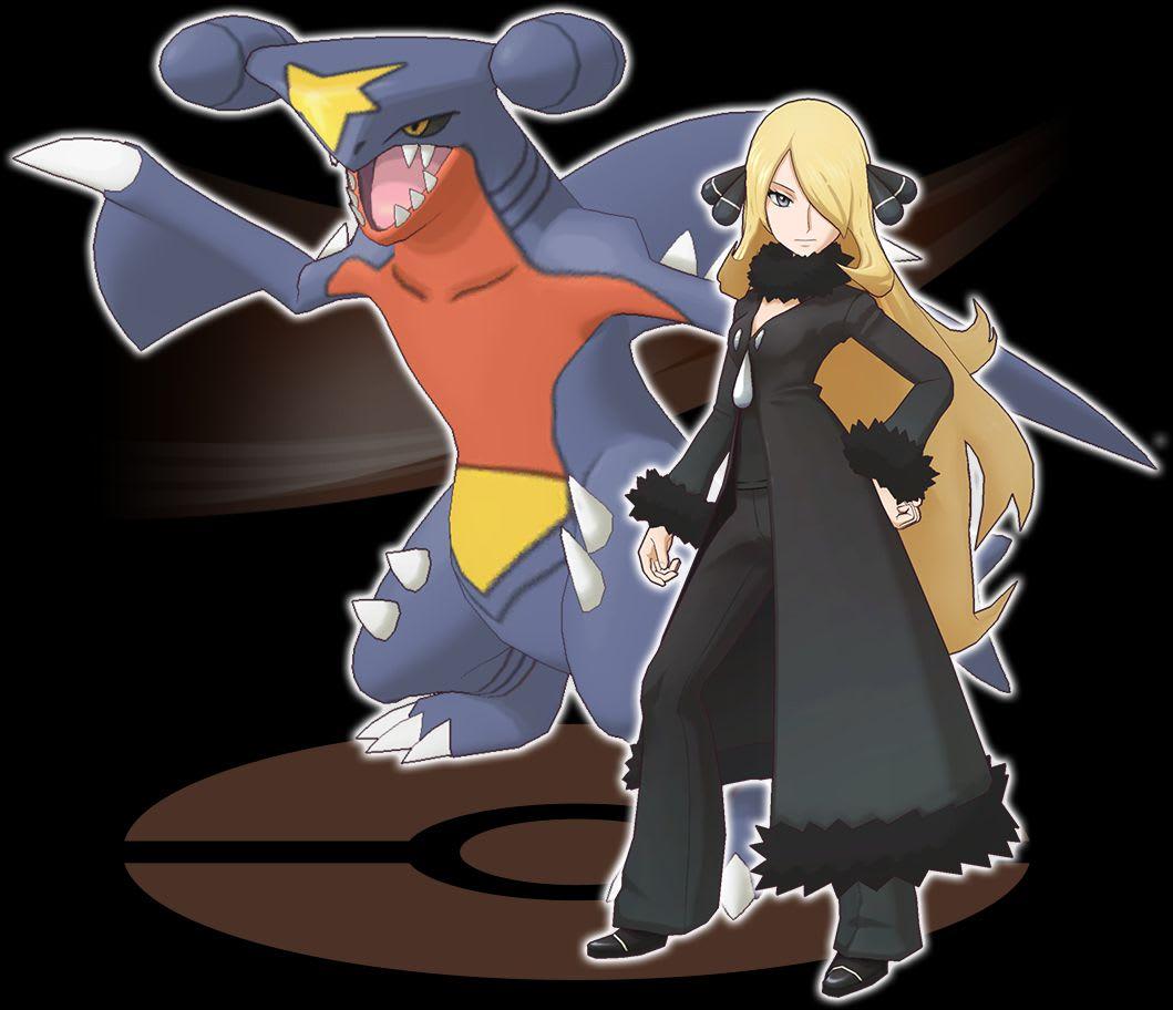 Pokémon Masters sync pair. One of the Pokémon gym leaders and her pokémon