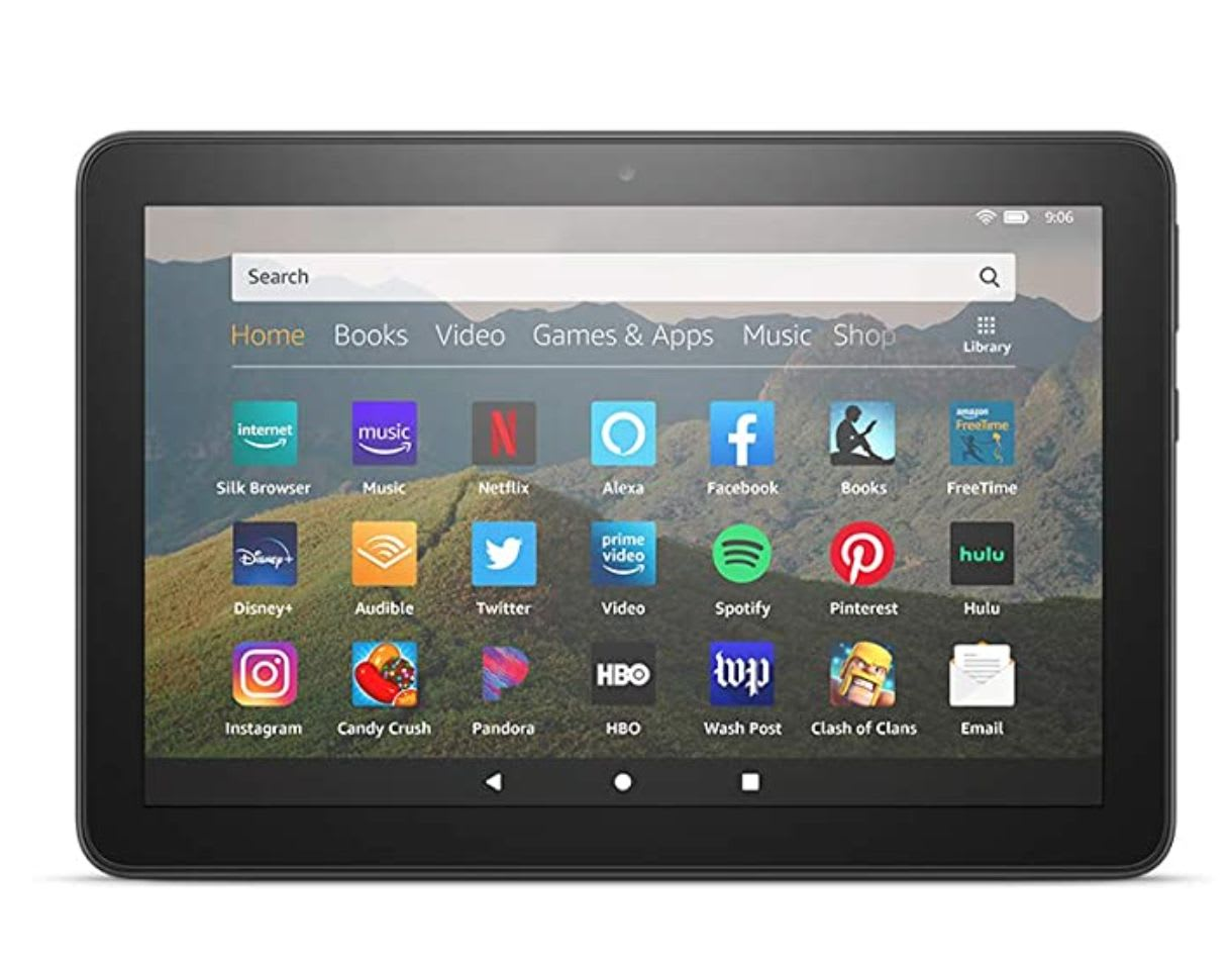 Get deals during Amazon Prime Day 2020 like this Fire 8 HD Tablet