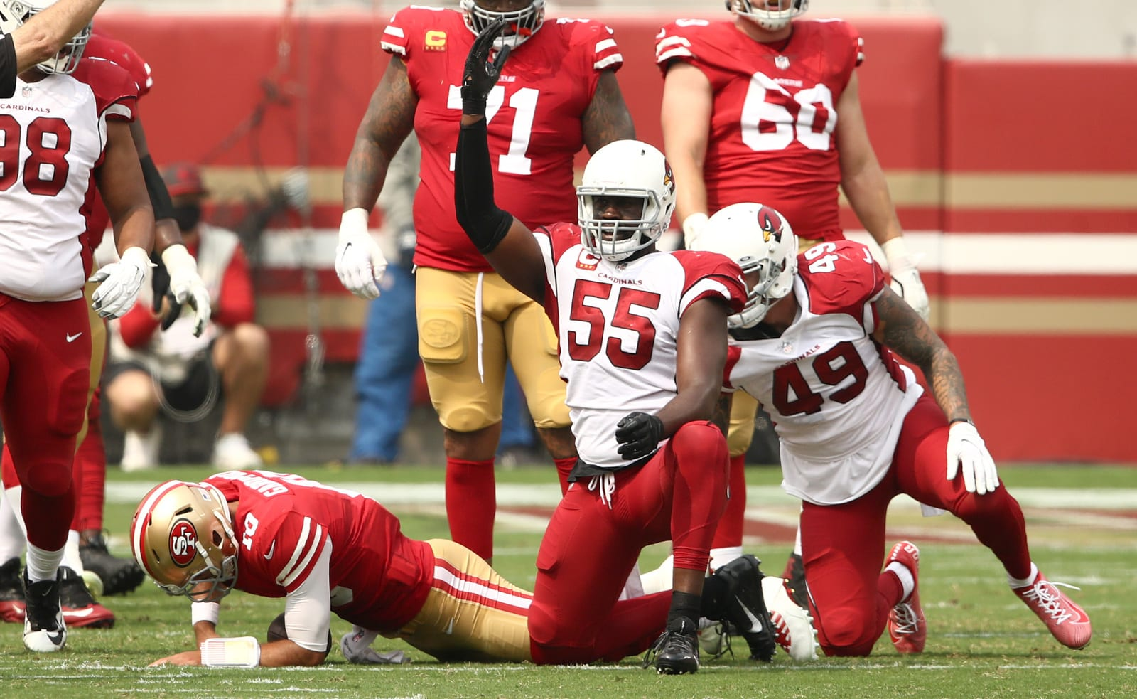 SF 49ers, Arizona Cardinals