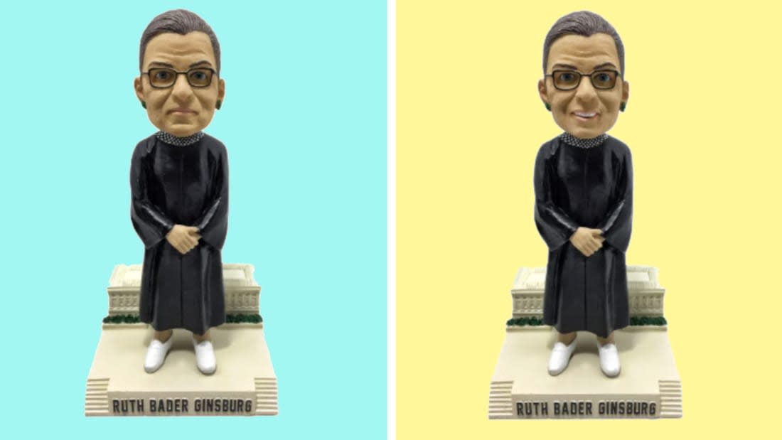 A New Ruth Bader Ginsburg Bobblehead Is Available for Pre-Order - Shop Now