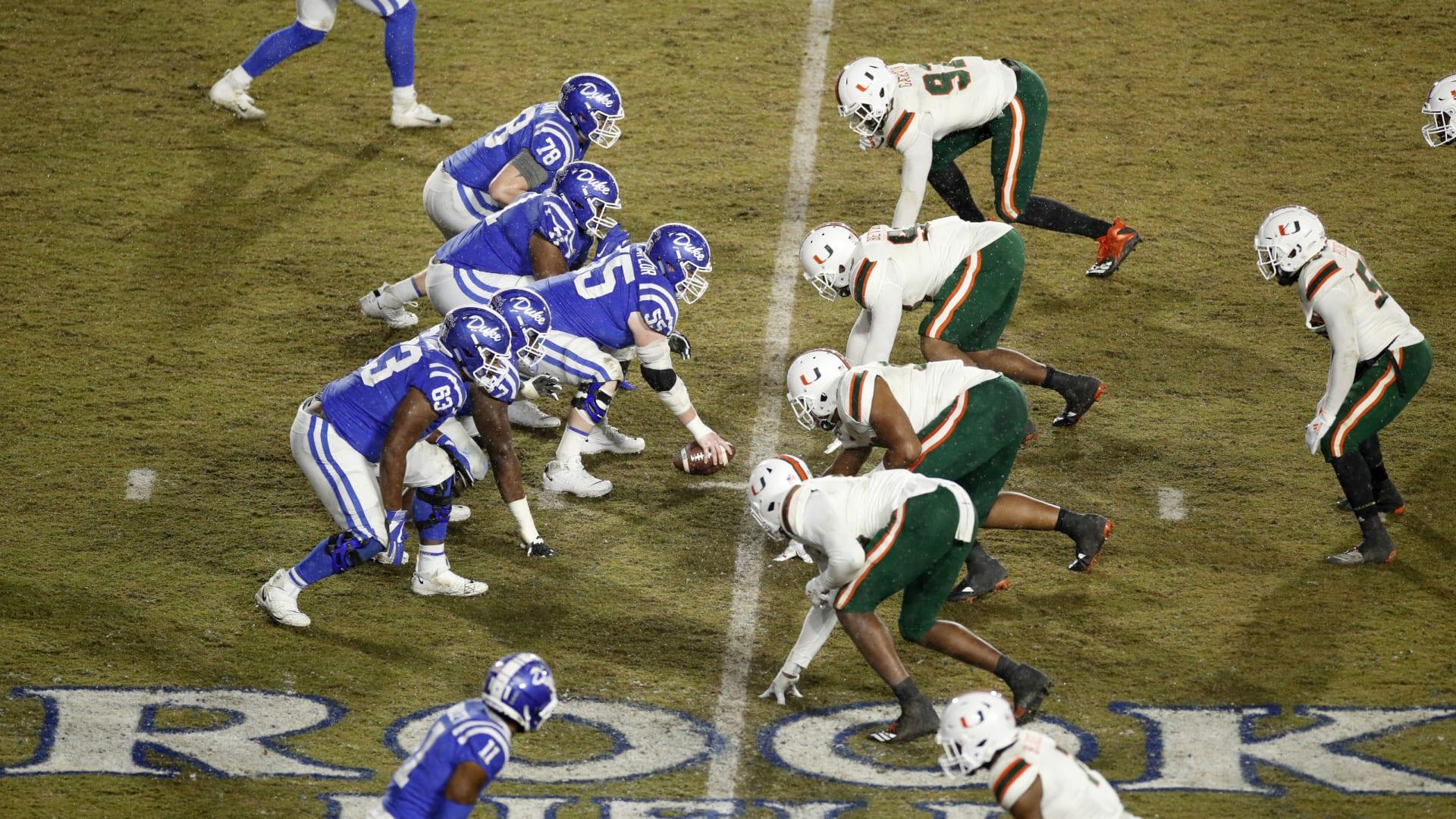 Duke football makes Top-10 for Class of 2021 offensive lineman 'Big Crim'