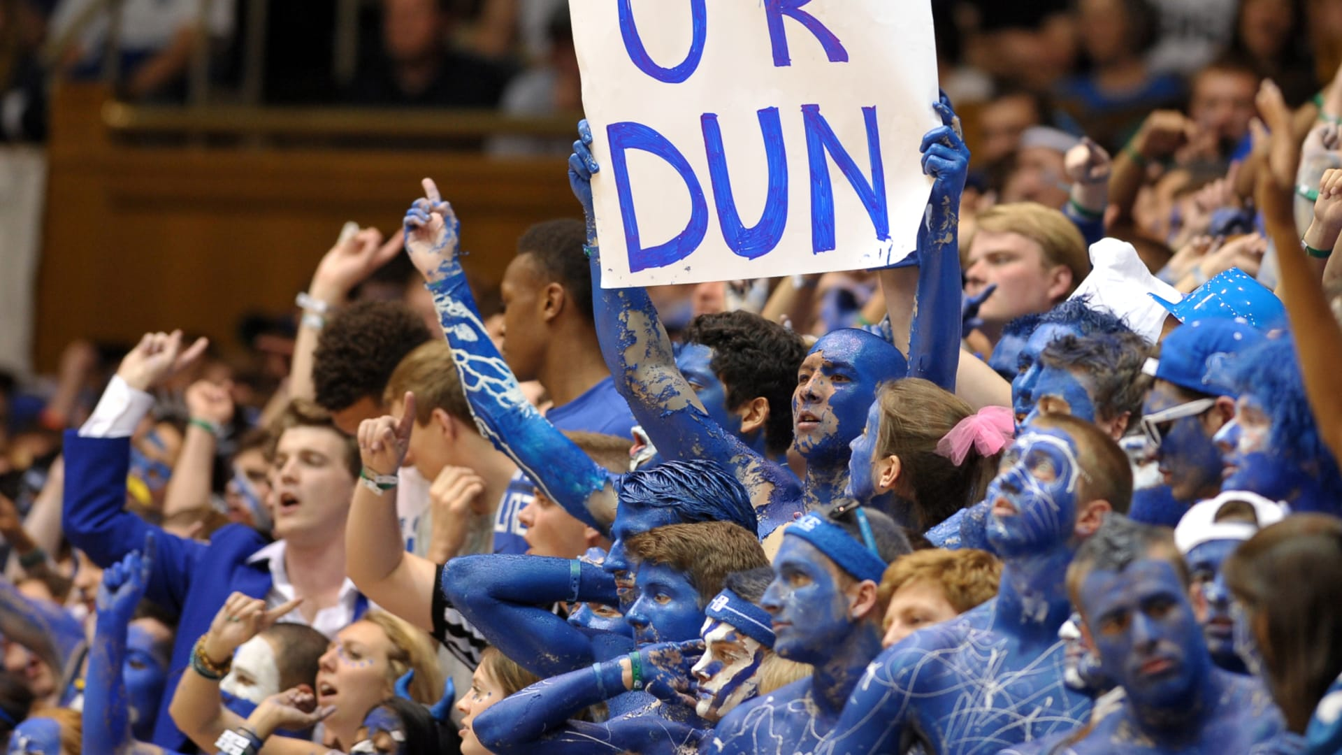 Duke basketball fans relish unraveled 'Carolina Family'
