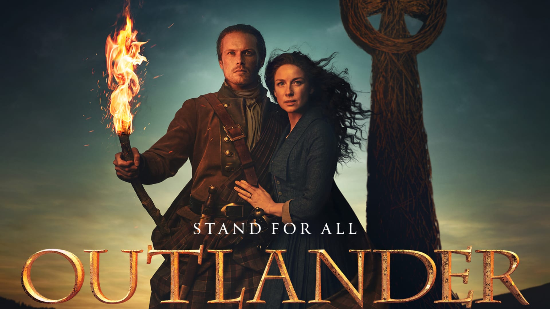 Claire stands for family in Outlander Season 5 promo poster