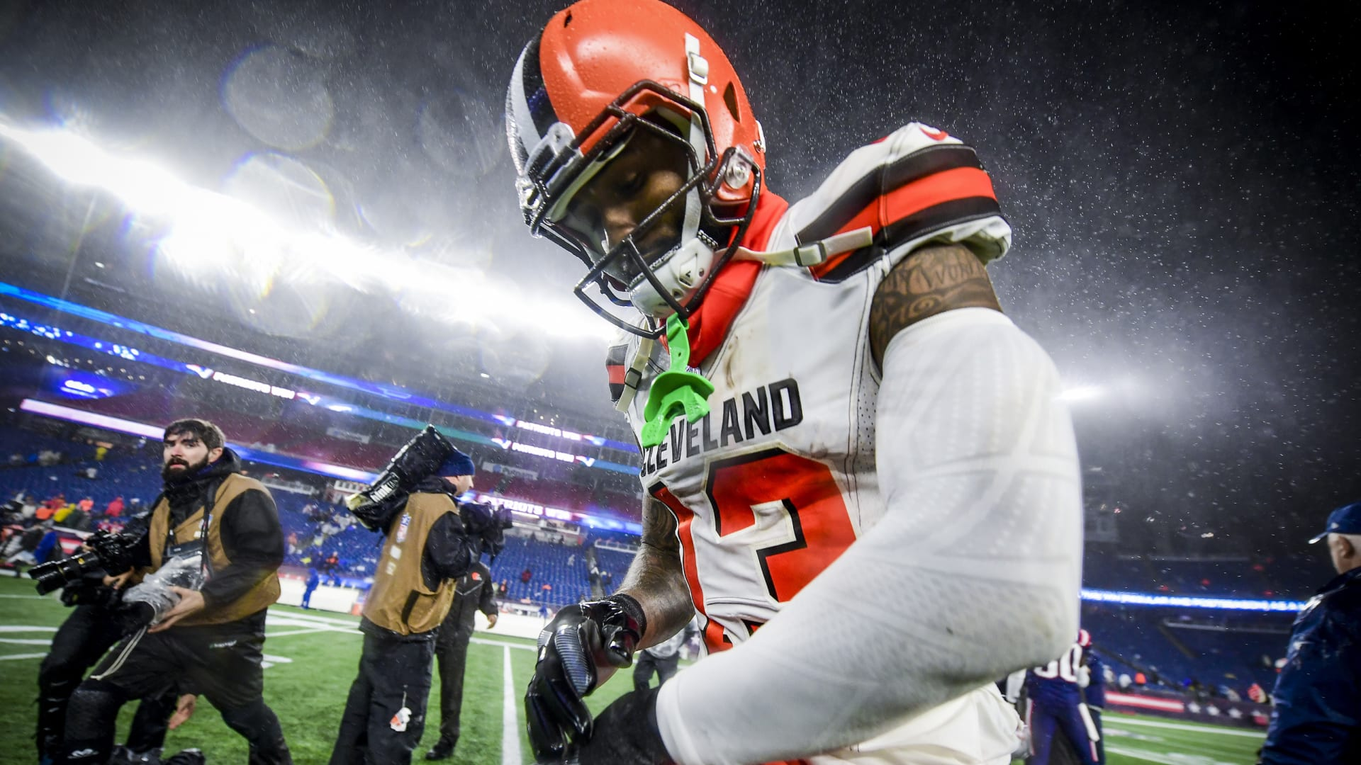 Cleveland Browns: Is Odell Beckham eyeing a move to New England?