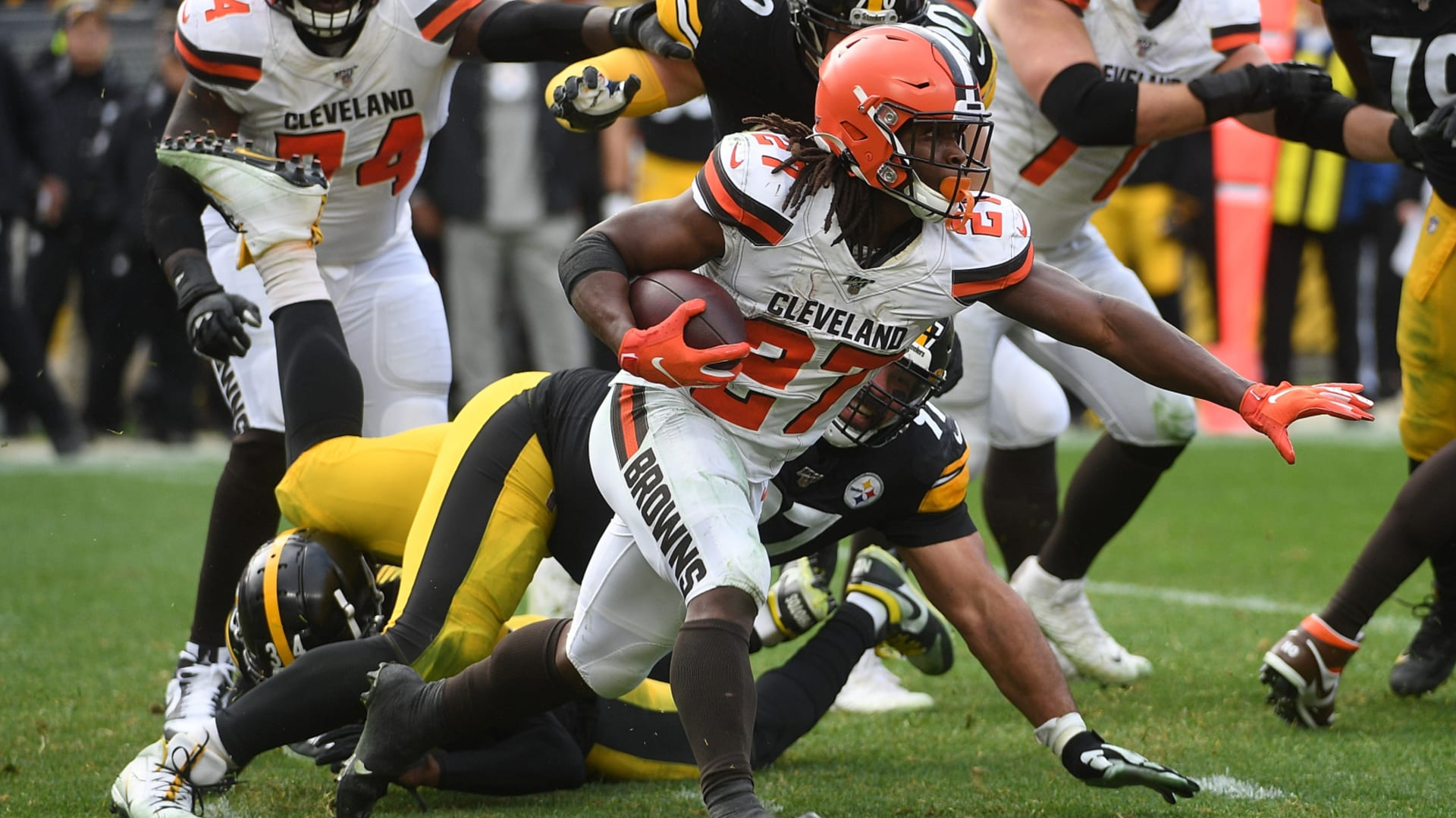 Can the Cleveland Browns outrush the Ravens in 2020?