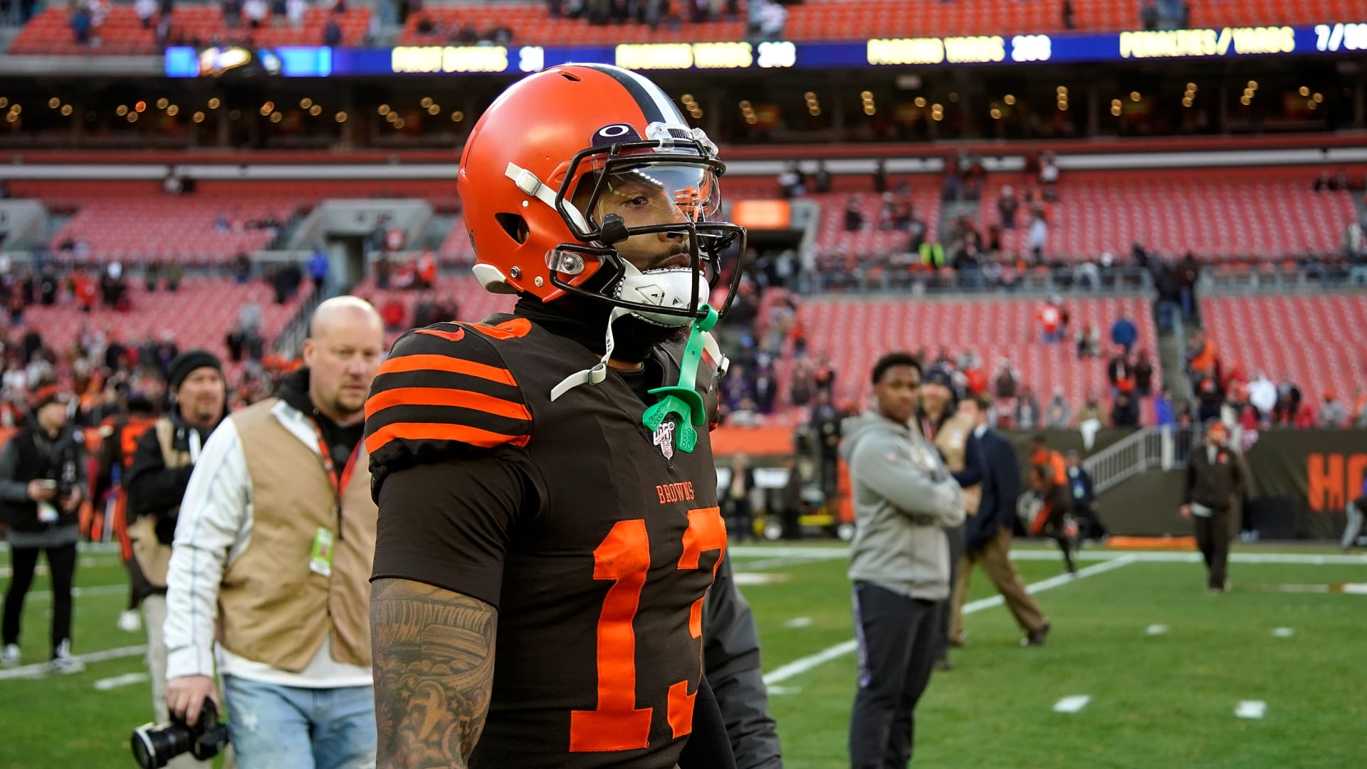 Andrew Berry: Cleveland Browns will listen to Odell Beckham trade offers