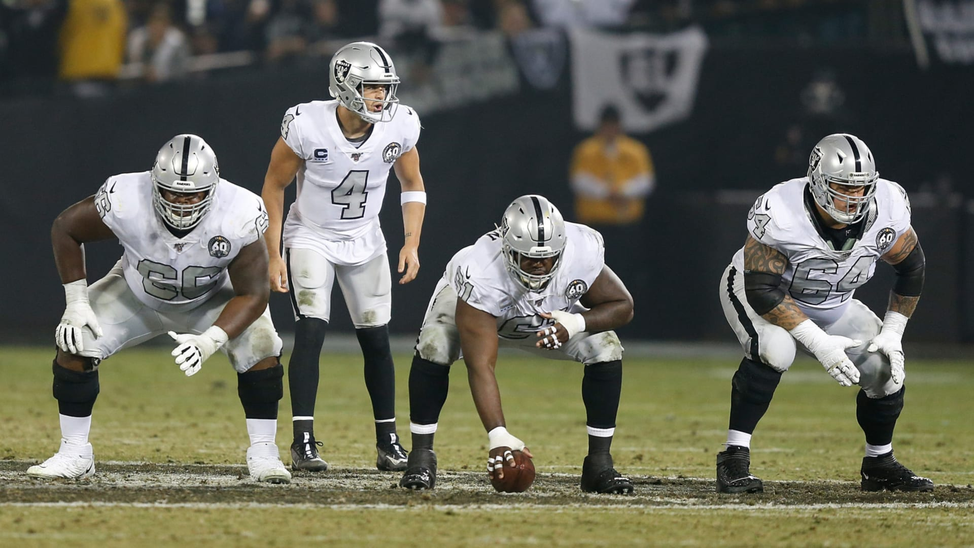 Las Vegas Raiders offensive line best in NFL according to PFF