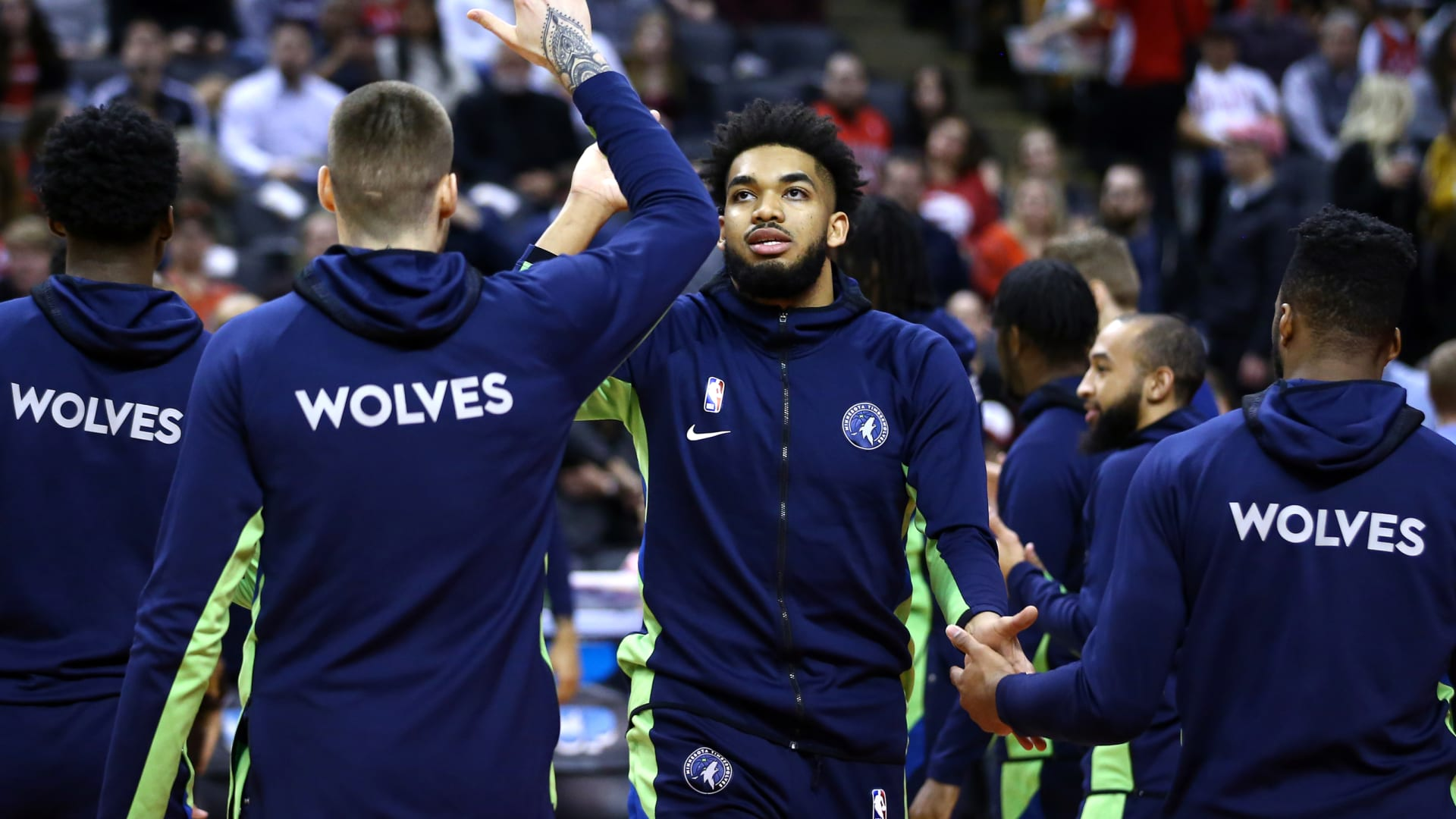 What will Minnesota Timberwolves' rotation look like with Towns out?