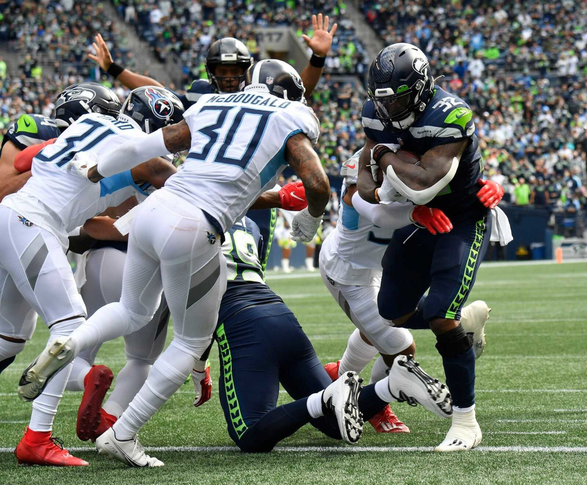 Seahawks key to better defense: Better offense with Chris Carson