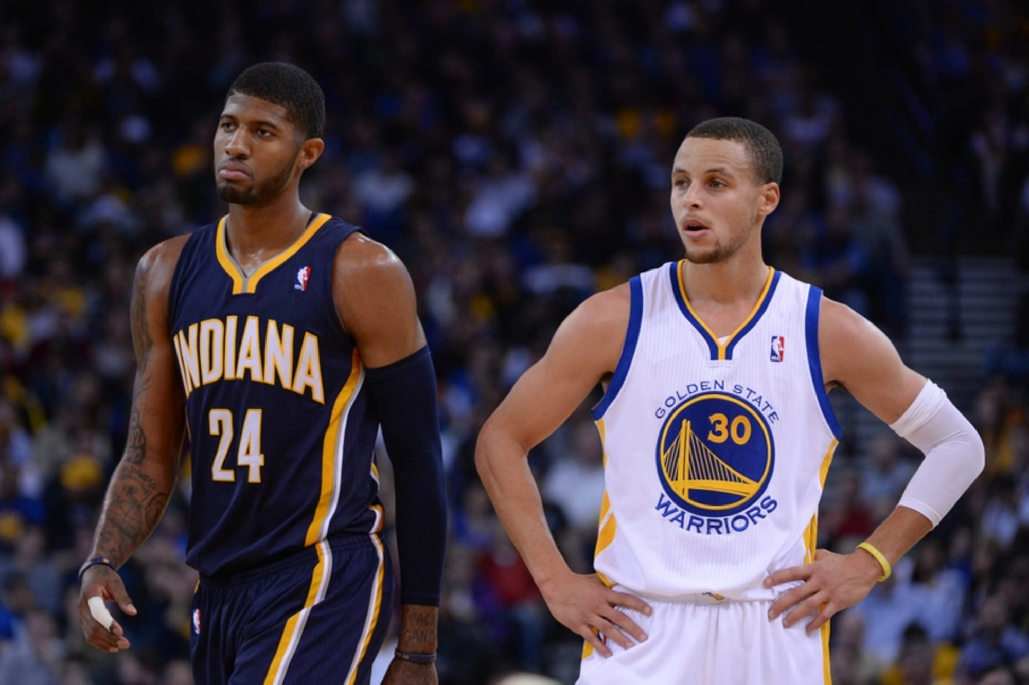 Indiana Pacers vs the Warriors ...