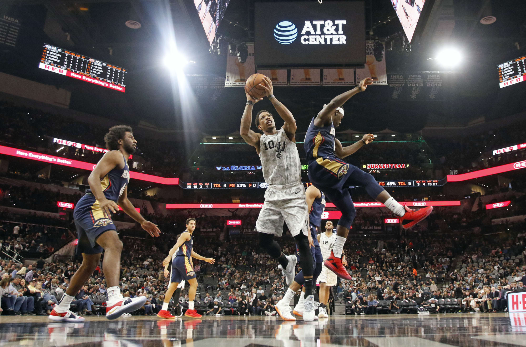 San Antonio Spurs: One offseason trade with every team – New Orleans Pelicans